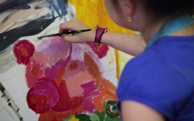 «Рисуем вместе» в детской городской больнице №22 Колпинского района