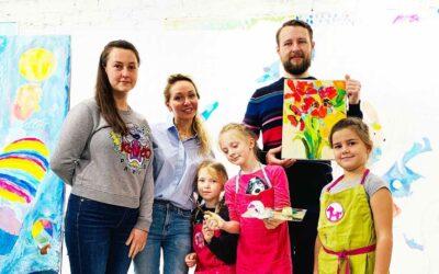 Аукцион в пользу нашего фонда был проведен Валерией Лошак ко Дню благотворительности