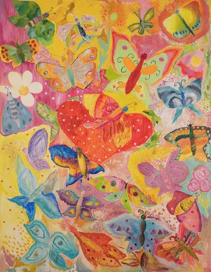Первая в России «реабилитационная картина» создана пациентами НИИ Джанелидзе под руководством петербургский художницы и при поддержке Минздрава