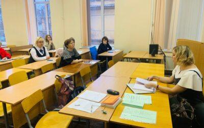 Пресс-секретарь фонда «Мы рисуем»  выступила на конференции «Педагогический дискурс» в РГПУ им. Герцена с докладом о духовном опыте в паллиативной помощи